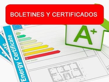 Certificados y Boletines Eléctricos en 24 horas